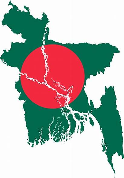 Bangladesh Flag Map Svg Victory National Symbols