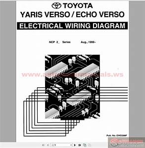 Toyota Yaris  Echo Verso 1999- Electrical Wiring Diagram