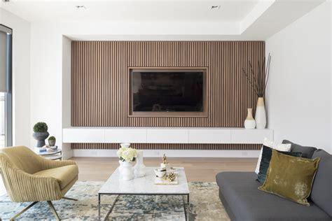 contemporist design detail  wood slat accent wall