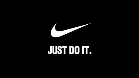 Okc Thunder Wallpaper Hd Al90 Nike Just Do It Dark Simple Minimal Logo Art Papers Co