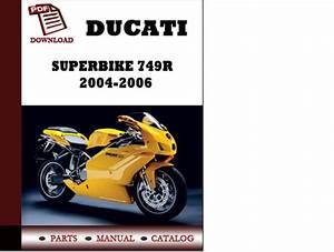 Ducati Superbike 749r Parts Manual Catalogue 2004 2005 2006 Englishgermanitalianspanishfrench