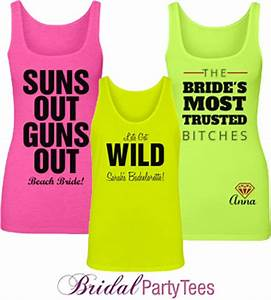 Neon Tanks and Crop Tops for Your Summer Bachelorette