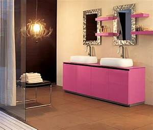 salle de bain moderne pour une matinee coquette design feria With salle de bain design avec décoration coeur pour mariage