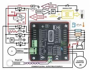 Generator Auto Start Circuit  U2013 Automatic Mains Failure