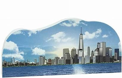 Skyline Trade York Ny Nyc Liberty Bell
