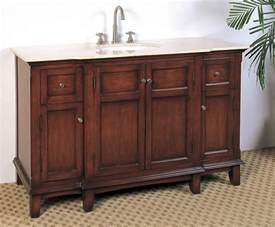 53 inch single sink bathroom vanity in bathroom vanities