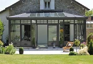 choisir des portes vitrees ou des fenetres pour votre veranda With porte fenetre coulissante pour veranda
