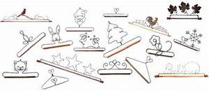Decorative Wire Hangers Of All Kinds For Small Quilts And