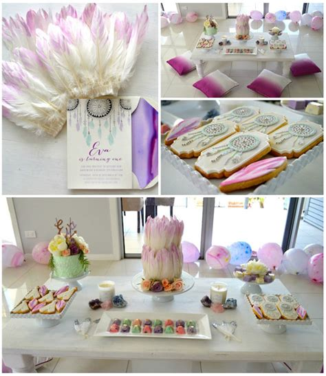 birthday party ideas 1st birthday party ideas kara 39 s party ideas bohemian teepee themed 1st birthday party