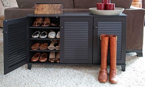 Baxton Studio Shoe Storage by Baxton Studio Storage Cabinets Groupon Goods