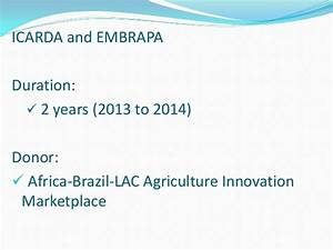 Introducing the ICARDA-ILRI Training Course on Methods and ...