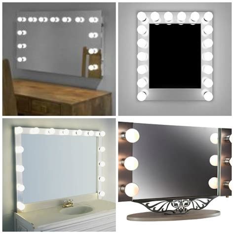light up mirror with see the difference with a wall mounted light up mirror