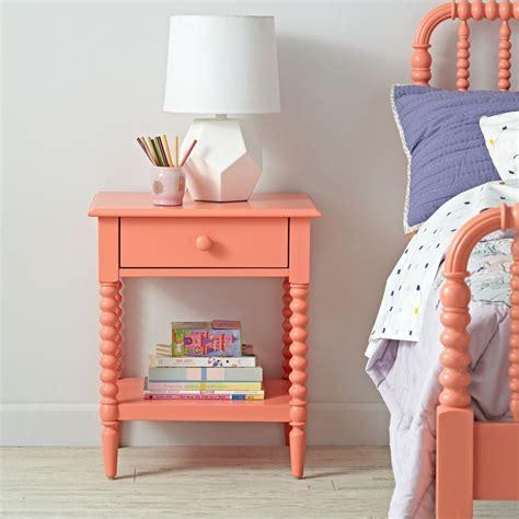 childrens bedside table ls kids nightstands bedside tables the land of nod