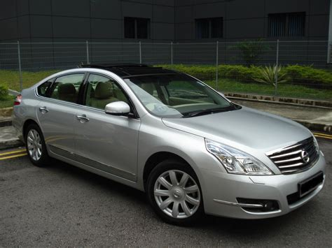 nissan teana 2009 silver specialize in used cars car insurance nissan teana 3 5