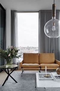 The best curtains for modern interior decorating for Modern living room curtains