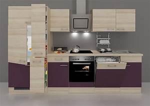 Arbeitsplatte Küche 4m : k chenzeile mit e ger ten portland breite 310 cm set 5 ~ Michelbontemps.com Haus und Dekorationen