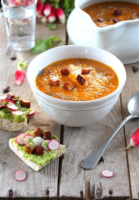 lait de coco cuisine soupe carottes courge lait de coco vegan payette cuisine