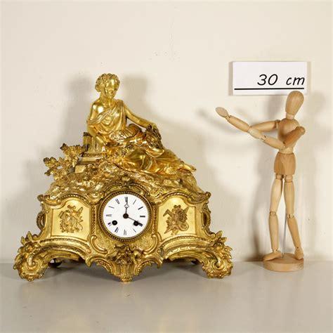 orologio da camino orologio da camino oggettistica bottega 900