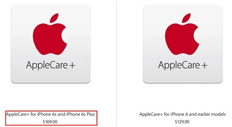applecare plus iphone applecare price jumps to 169 in canada for iphone 6s