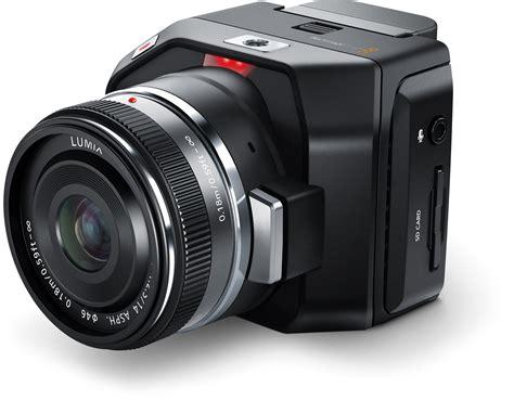 blackmagic micro cinema camera tiny  bit raw camera