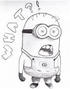 Despicable Me Minions Sketch Minion by shiramusprime  Despicable Me 2 Minions Drawing