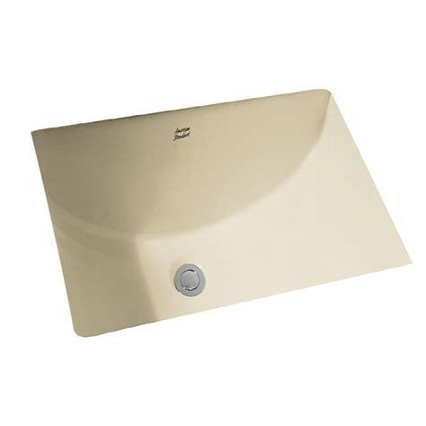 undermount bathroom sink lowes shop american standard linen undermount rectangular