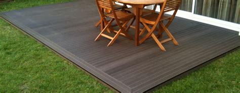 terrasse bois ou composite photos de conception de