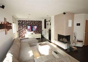 Wohnzimmer Gemütlich Gestalten : ein wohnzimmer mit kamin gestalten raumax ~ Lizthompson.info Haus und Dekorationen