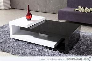 15 modern center tables made from wood home design lover With home furniture center table design