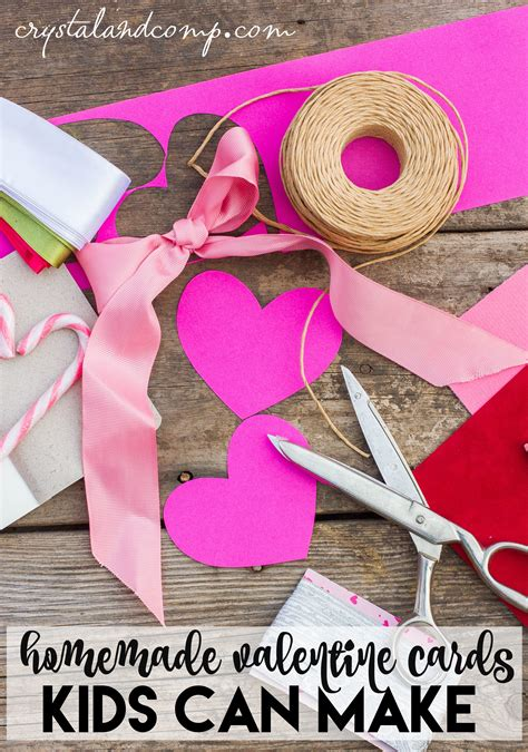 Need the perfect card to go with the amazing valentine's day gift you picked out for him or her? Homemade Valentine Cards for Kids