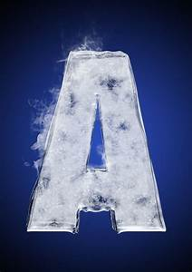 Txaber » Ice typography for Nike