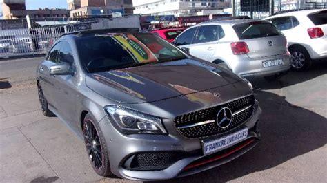 The engine offers a displacement of 2.0 litre matched to a 4 x 4 wheel drive system and a dual clutch gearbox with 7 gears. Mercedes Benz CLA 250 Sport 4Matic for sale in Gauteng | Auto Mart