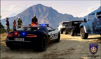 Gta Police Wallpapers Lspdfr Bugatti Backgrounds Cars