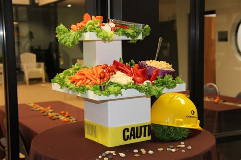 This article contains some affiliate links. Construction Themed Corporate Retirement Party