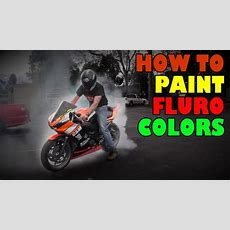 How To Custom Paint A Motorcycle  Youtube