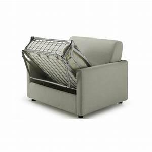 Canapé Lit Une Place : canap convertible 1 personne maison et mobilier d 39 int rieur ~ Teatrodelosmanantiales.com Idées de Décoration