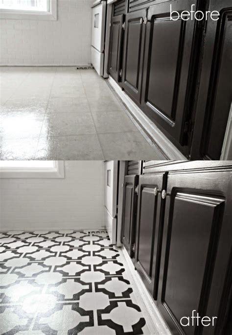 painting vinyl kitchen floors 25 best ideas about painted vinyl floors on 4073