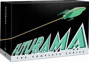 New Futurama Dvd Box Art For Complete Series Set