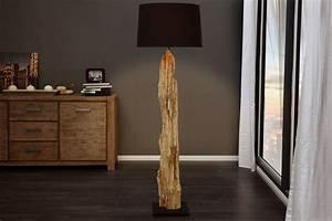 Designer Stehlampen Holz : riesige design stehlampe rousilique treibholz lampe schwarz mit echtem leinenschirm handarbeit ~ Indierocktalk.com Haus und Dekorationen