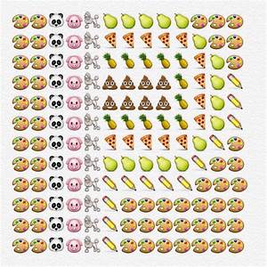Delightful Typeface Formed With Emoji Icons That Start