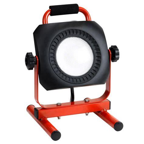 led work light home depot idc lighting portable and black led work light ft0401