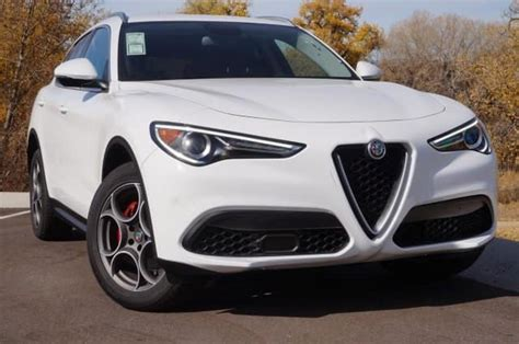 alfa romeo stelvio luxury suv lease offer  denver