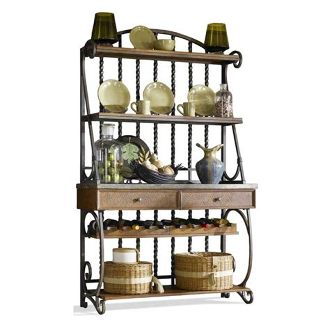 bakers rack for bakers racks style options for the smaller home