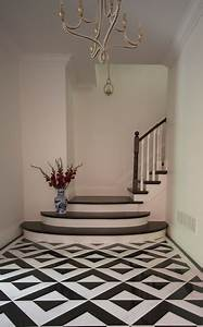 Black, And, White, Floor, Tiles, -, Contemporary