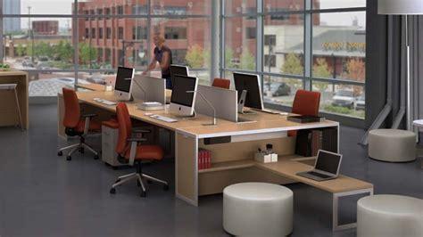 contoh desain ruang kerja minimalis nyaman  ergonomis