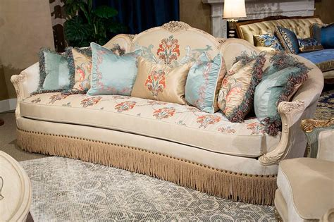 Belle Fleur Living Set By Aico Furniture  Aico Living