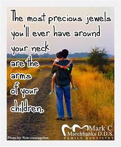 The most precious jewels you'll ever have around your neck ...