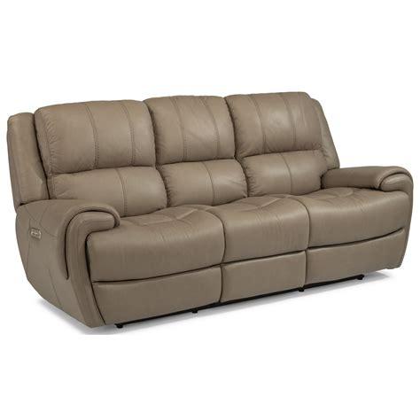 power reclining sofa with usb ports flexsteel latitudes nance casual power reclining sofa with