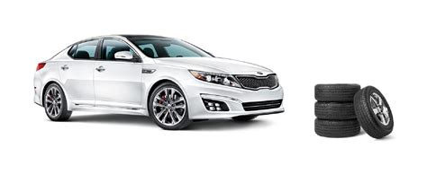 Kia Optima Tire Size by Kia Optima Tires Sizes All Season And Winter Tires