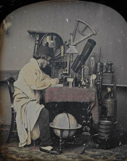 Daguerreotype Stereoscopic Colored Inventions Posing Chubachus Photographic